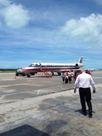 Exuma-sized plane
